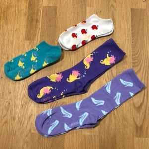 Disney princess socks – Bundle of 4
